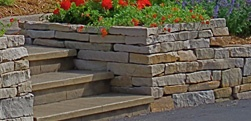 Minnesota Landscape Retaining Walls from Heins Nursery.