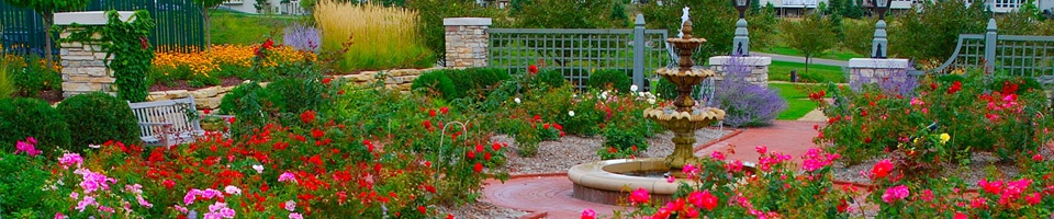 Heins Nursery offers an array of high end landscape planting.