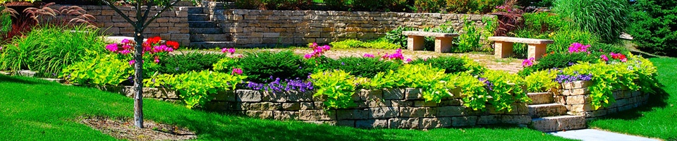 Heins Nursery offers an array of high end paver and stone patios.