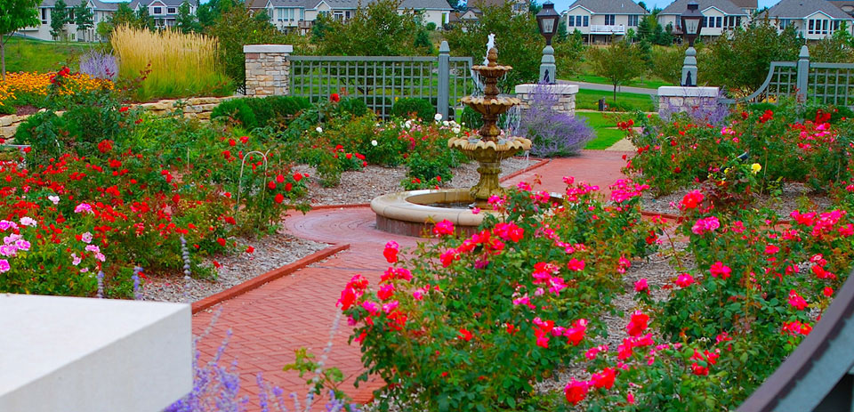 High End Commercial Landscaping from Heins Nursery, Woodbury, Minnesota.