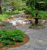 Minnesota Paver & Stone Patios from Heins Nursery.